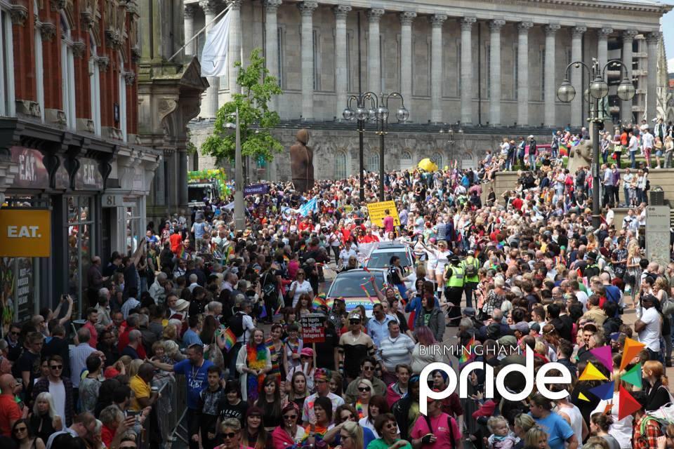 Birmingham Pride 2016 Lineup