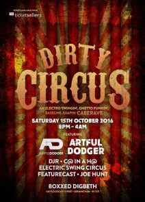Dirty Circus UK logo