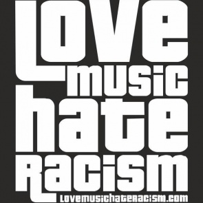 Love Music Hate Racism Birmingham logo
